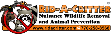 Rid-A-Critter Nuisance Animal and Pest Control - Atlanta and North-Central Georgia. Call 770-258-8568